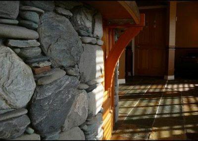 Shoreline stone work